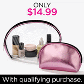 PWP COSMETIC CASE DUO $14.99