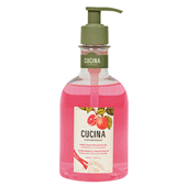 Cucina Grapefruit and Rhubarb Hand Soap with Olive Oil