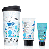 belif Essential Moisturizing Duo with Reusable Cup - Aqua Bomb