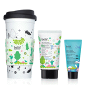 belif Essential Moisturizing Duo with Reusable Cup - Moisturizing Bomb