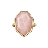 Pink Hope Rose Quartz Ring