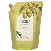 Cucina Coriander and Olive Tree Hand Soap with Olive Oil - Refill