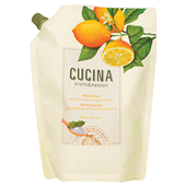 Cucina Sea Salt and Amalfi Lemon Hand Soap with Olive Oil - Refill