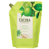 Cucina Lime Zest and Cypress Hand Soap with Olive Oil - Refill