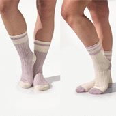 2 Pack Cotton Blend Socks