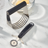 Dough Blender and Fluted Pastry Cutter Set