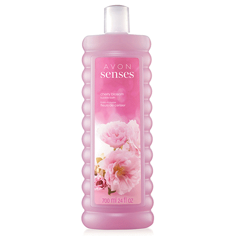 Avon Senses Cherry Blossom Bubble Bath