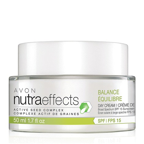 NutraEffects Active Seed Complex Balance Broad Spectrum SPF 15 Sunscreen Day Cream