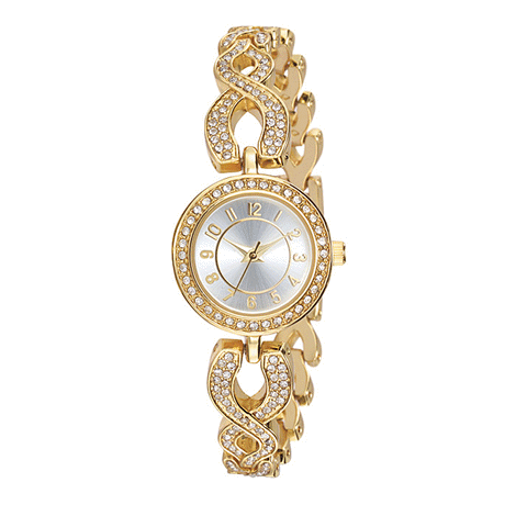 Women's Sparkling Crystal Watch