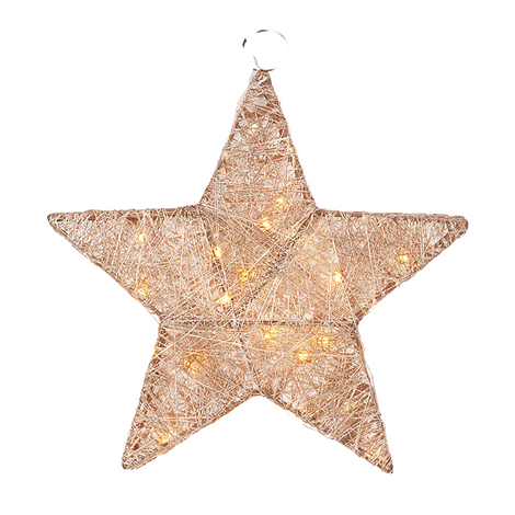 Wire Wrapped Light Up Star
