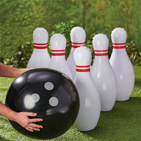 Oversized Inflatable Bowling Game