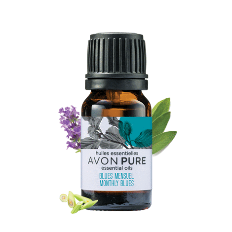 Avon Pure Monthly Blues Essential Oil