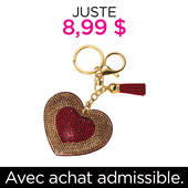 PWP LOVE KEY CHAIN $8.99