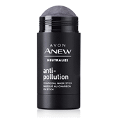 Masque antipollution au charbon en stick Anew Neutralize