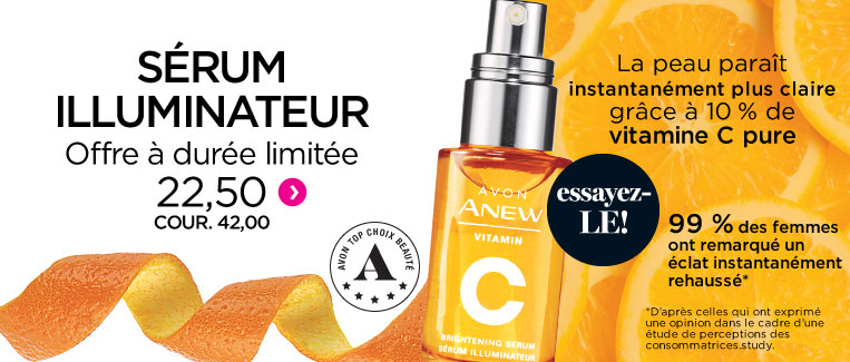 Sérum illuminateur Anew Vitamin C