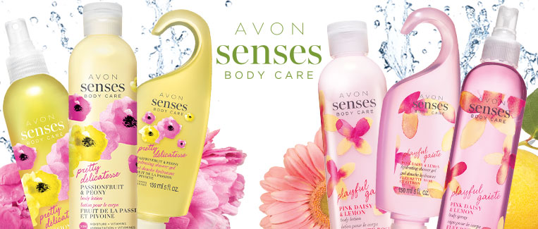 Avon Senses Body Care