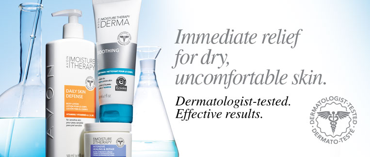 Immediate relief for dry, uncomfortable skin.