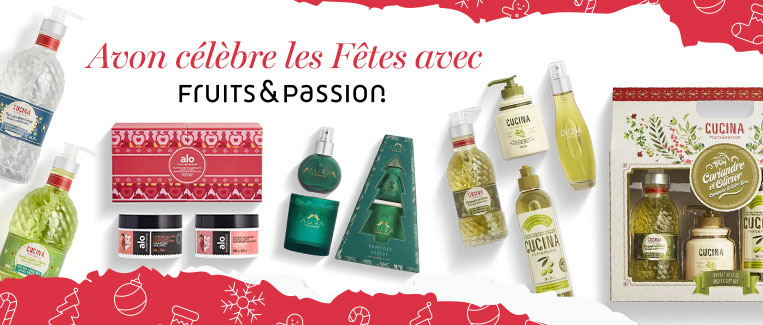 Ensembles-cadeaux Fruits & Passion