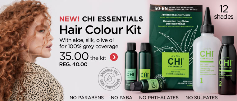 New! Hair color kit Avon CHI essentials