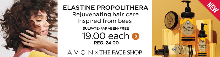 New elastine propolithera rejuvenating hair care