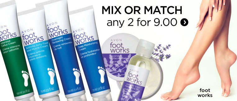 Foot works sale mix and match any 2 for 9.00