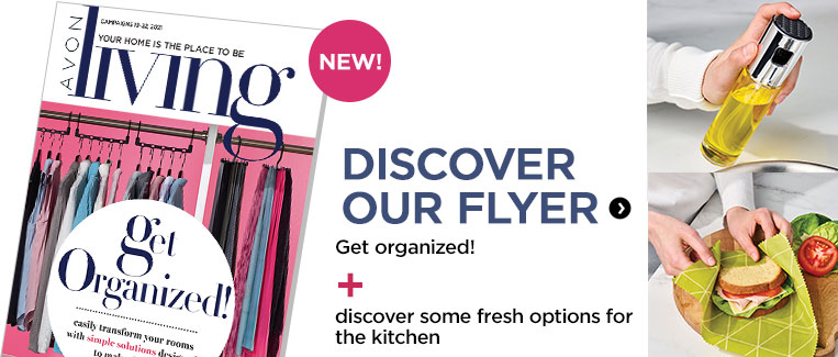 Check our new avon living flyer