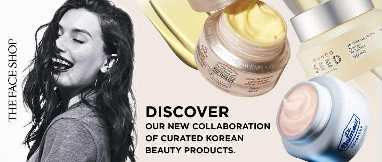 Discover our new collatoration of curated Korean beauty products.