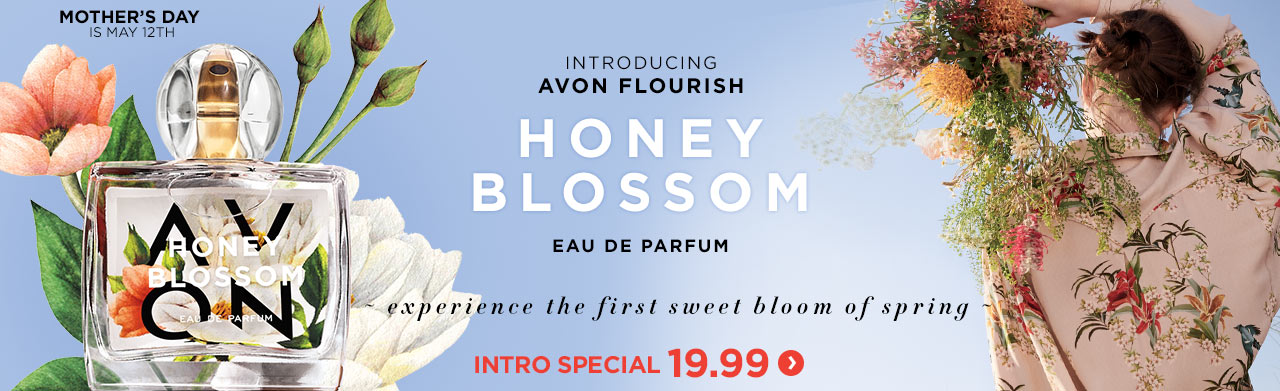 Introducing Avon Flourish Honey Blossom Eau de Parfum