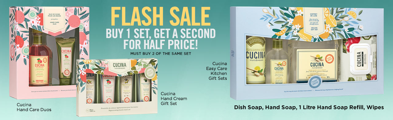 New! Cucina Mother's Day Gift Sets